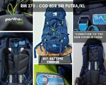 Karrimor panther 65+5 hiking bag original