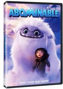 English Animated Movie Abominable DVD