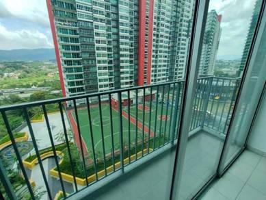 Damansara Damai The Zizz unit partially furnished with Balcony