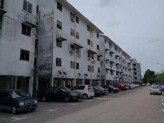 Taman Daya Flat Nipah/Full Loan /Call For Best Price Now