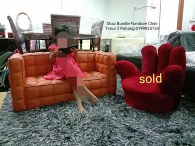 Sofa kanak2 dan kerusi office dual function