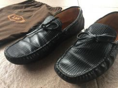 Authentic tod shoes black made in Italy