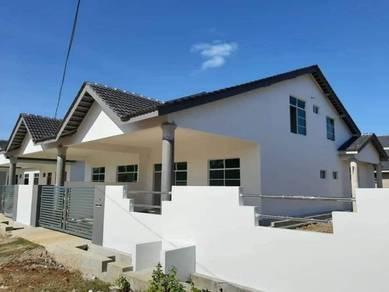 Semi D di Cempaka Jaya, Kempadang (Freehold/4 Bilik)