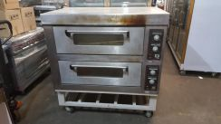 Used electric oven 2 decks 4 trays forsale