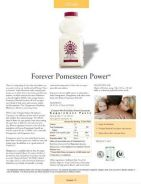Forever Living Aloe Pomesteen Power