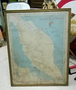 Antik msia ktm map lama