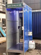 Covid 19 - disinfection cabin/container