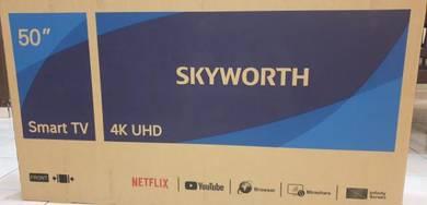 SKYWORTH 50 PREMIUM SMART UHD 4K LED TV(new)