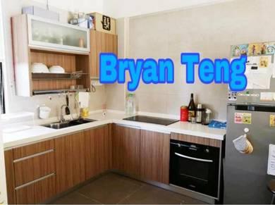 Desa Bella Apartment 1100sf Build In Kitchen Tanjung Bungah
