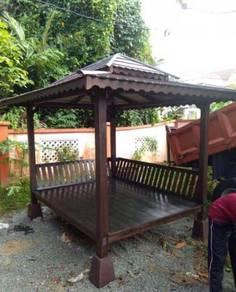 Gazebo, Wakaf, Pondok rehat hiasan laman