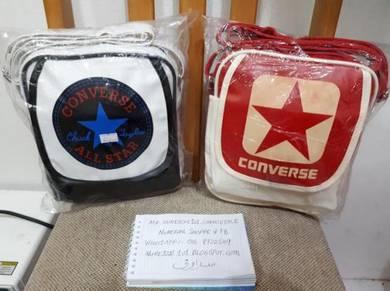 CONVERSE Sling Bag, Handbag Vintage White - Red