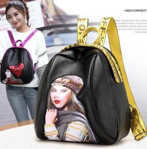 Ladies Shopping Backpack(BLSE 28617)