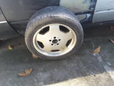 Mercedes w140 amg spare wheel