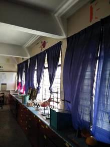 Langsir Jetsey sekolah dan kelas