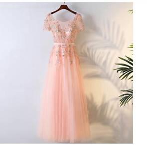 Pink wedding bridal prom dress gown RBP0572