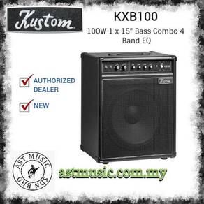Kustom Kxb100 KXB100 Bass Combo Amplifier