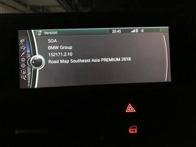 BMW Navigation ROAD MAP 2018 for CIC & NBT