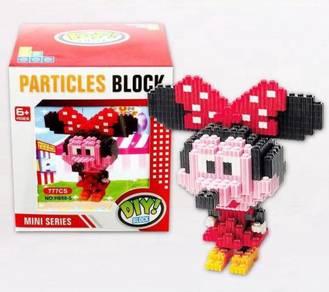 Mini series particle blocks