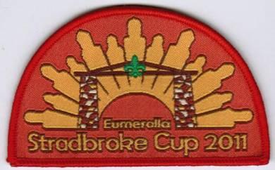Eumeralla Stradbroke Cup2011 Australia Scout Patch