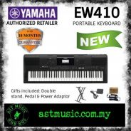 New Yamaha EW410 with package