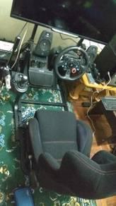GT art racing cockpit simulator