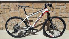 Merida Carbon MTB with Manitou R7 Fork