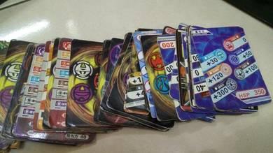 Bakugan magnetic cards