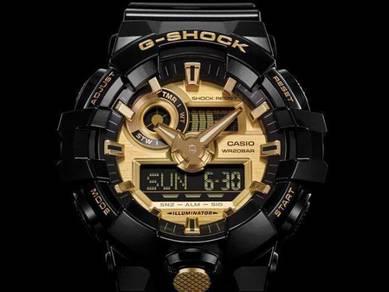 Watch - Casio G SHOCK GA710GB-1 - ORIGINAL