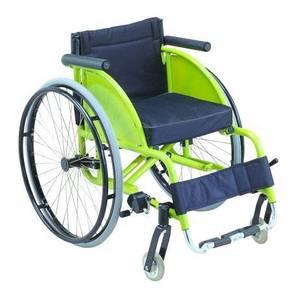 Leisure Wheelchair - Yellow / Kerusi Roda Leisure