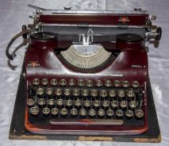 Groma germany mechanical typewriter