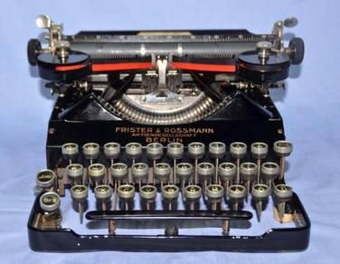 Rare senta germany mechanical typewriter