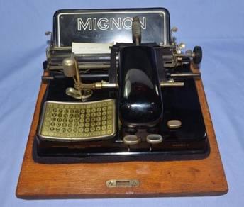 Mignon aeg model 4 germany indexwriter