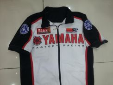 Jaket yamaha big logo lelongan pendek