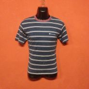 Baju brand CHAMPION stripe t shirt