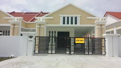 Single Storey Terrace Corner House. Miri, Taman Tunku