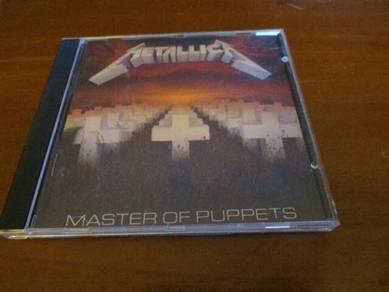 Metallica Master Of Puppets Album