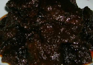 Spicy dendeng daging