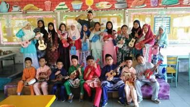 Guitar and Ukulele class in Shah Alam