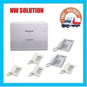 5PANASONIC KEYPHONE SYSTEM kxp 824 main unit +45YR