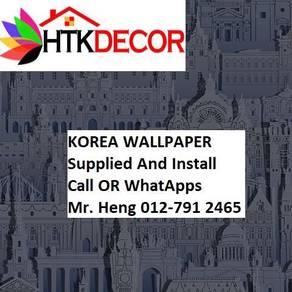 Pretty Wallcovering with Installation 6g50989
