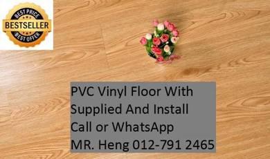 PVC Vinyl Floor - With Install vg67u