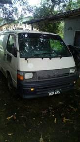 Year 1997 Toyota hiace pannel van diesel