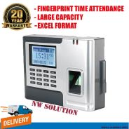 7Super sensor fingerprint time recoder machine+45y