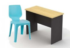 Simple study table & chair set (tp-2)