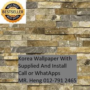 HOTDeal Design with Wall paper for Office 65rz