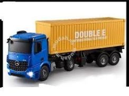 Rc actros truck kontena
