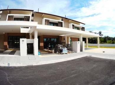 New 2 storey laman alamanda superlinks homes 2, kota seriemas, nilai