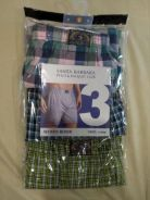 Polo SBPRC 3 pack slim fit boxers size L