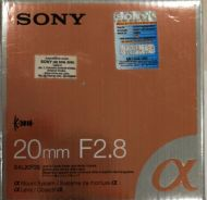 Sony 20mm f2.8 A mount lens fir DSLR