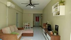 Fully furnished Forest Green condo, walk to UTAR, sungai long